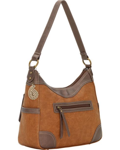 Bandana by American West Guns And Roses Large Concealed Carry Shoulder Bag, , hi-res