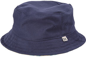 Stormy Kromer Men's Cotton Twill Bucket Hat, Blue, hi-res