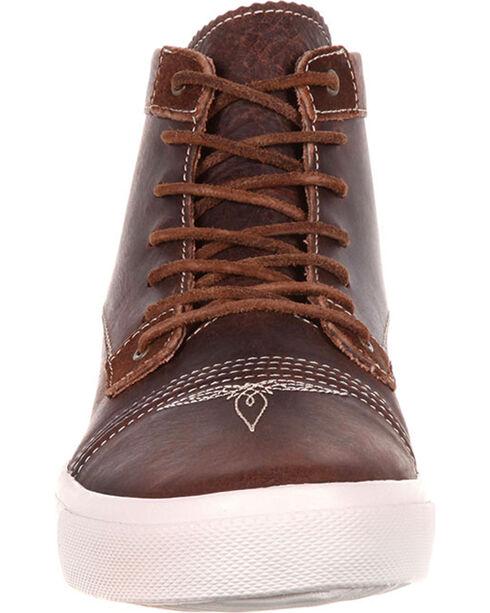 Durango Men's Music City Lace-Up Sneakers, Brown, hi-res