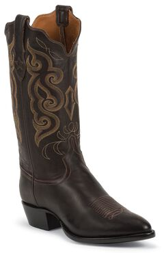 Tony Lama Signature Series Rista Calf Cowboy Boots - Medium Toe, , hi-res