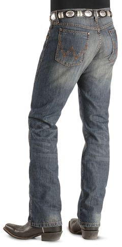 Wrangler Jeans - Dark Knight Denim Retro Slim Fit, , hi-res