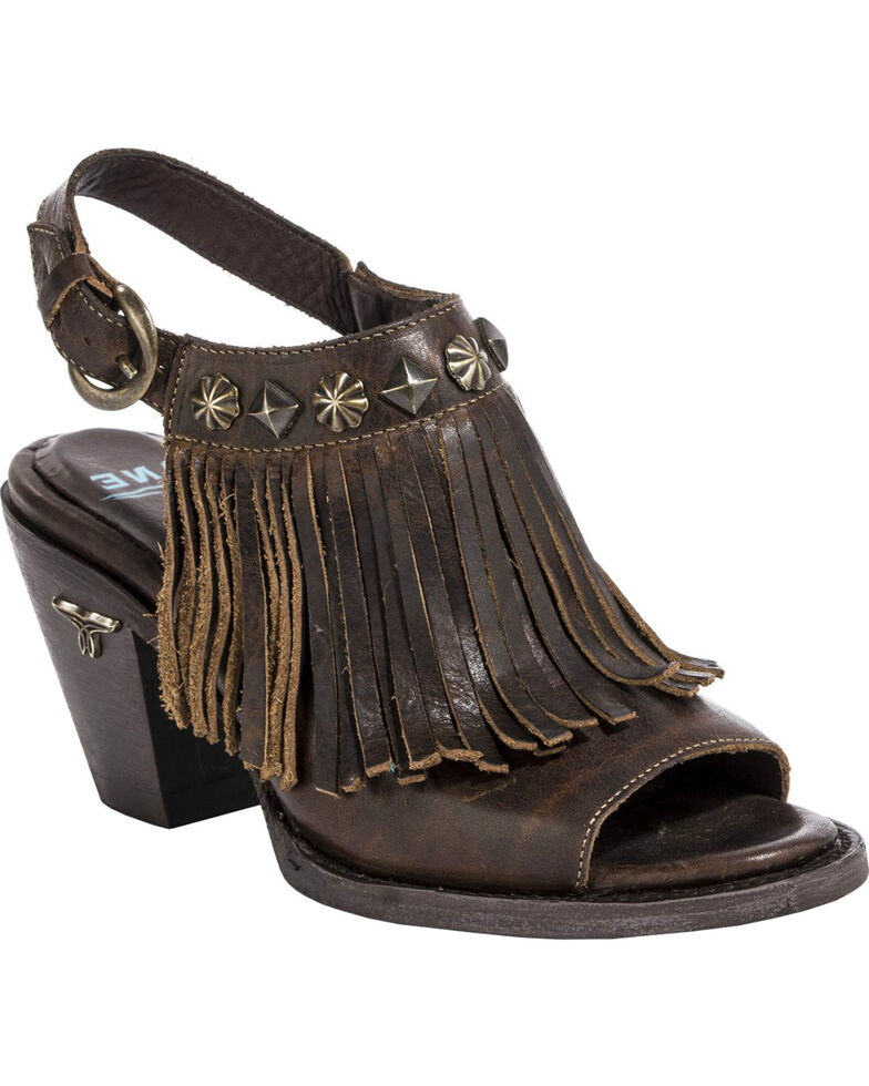 Corral Women's Round Toe Pull On Western Ankle Boots Distressed Black A3243