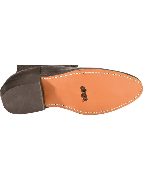 Dingo Slouch Cowboy Boots - Round Toe, Black, hi-res