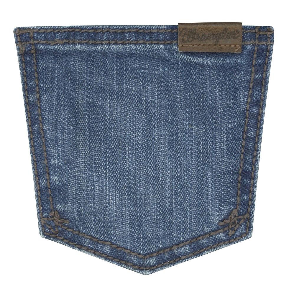 Wrangler Women's Faded Wash Retro Mae Jeans  , Indigo, hi-res