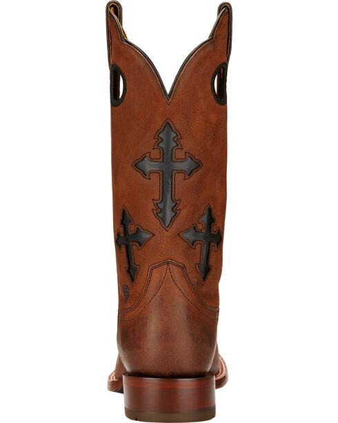 Ariat Ranchero Cowboy Boots - Square Toe , Whiskey, hi-res