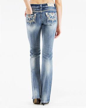 Grace in L.A. Women's Medallion Bootcut Jeans, Denim, hi-res