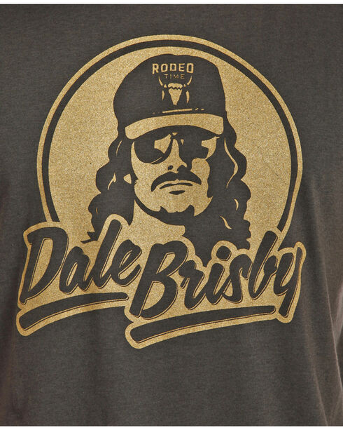 Rock & Roll Cowboy Grey Dale Brisby Tee, Charcoal, hi-res