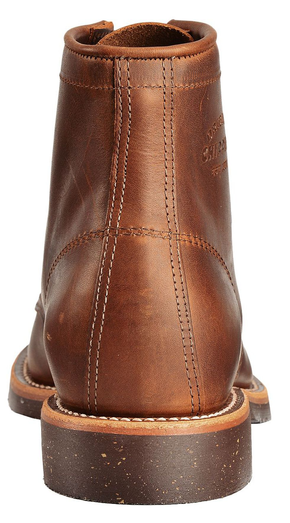 "Chippewa Service 6"" Lace-Up Boots - Round Toe, Bay Apache, hi-res"