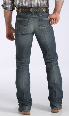 Cinch Men's Ian Mid-Rise Slim Bootcut Jeans, , hi-res