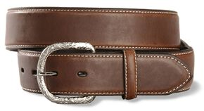 Nocona Brown Basic Belt - Reg & Big, Brown, hi-res