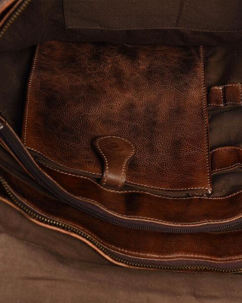 Bed Stu Men's Paulo Teak Rustic Messenger Bag, Dark Brown, hi-res