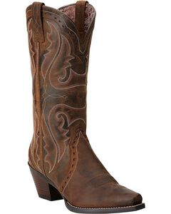 Ariat Heritage Western Cowgirl Boots - Snip Toe, , hi-res