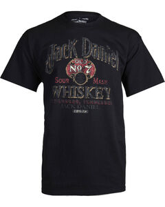 Jack Daniel's Men's Sour Mash Whiskey Graphic Tee, Black, hi-res