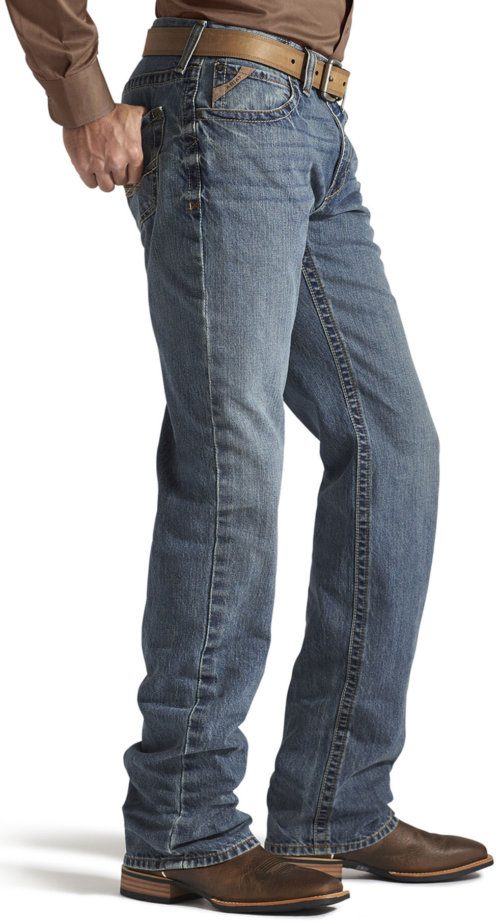 Ariat Denim Jeans - M3 Smokestack Loose Fit, Denim, hi-res