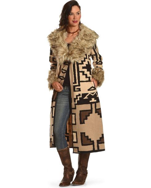Tasha Polizzi Women's Solas Blanket Coat, Light Grey, hi-res