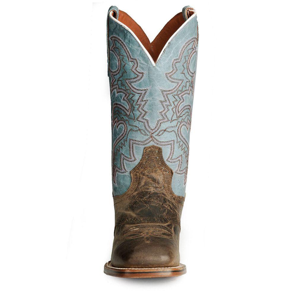 Dan Post Gel-Flex Cowgirl Certified Western Boots, Sand, hi-res
