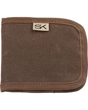 Stormy Kromer Men's Reserve Wallet, Dark Brown, hi-res