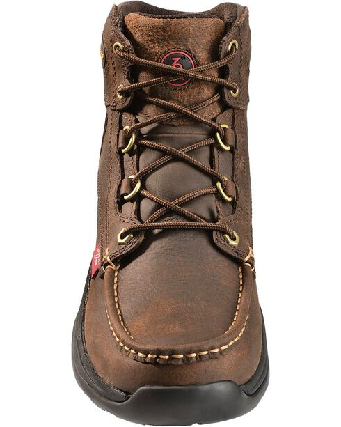Tony Lama 3R Waterproof Lace-Up Casual Boots - Round Toe, Briar, hi-res