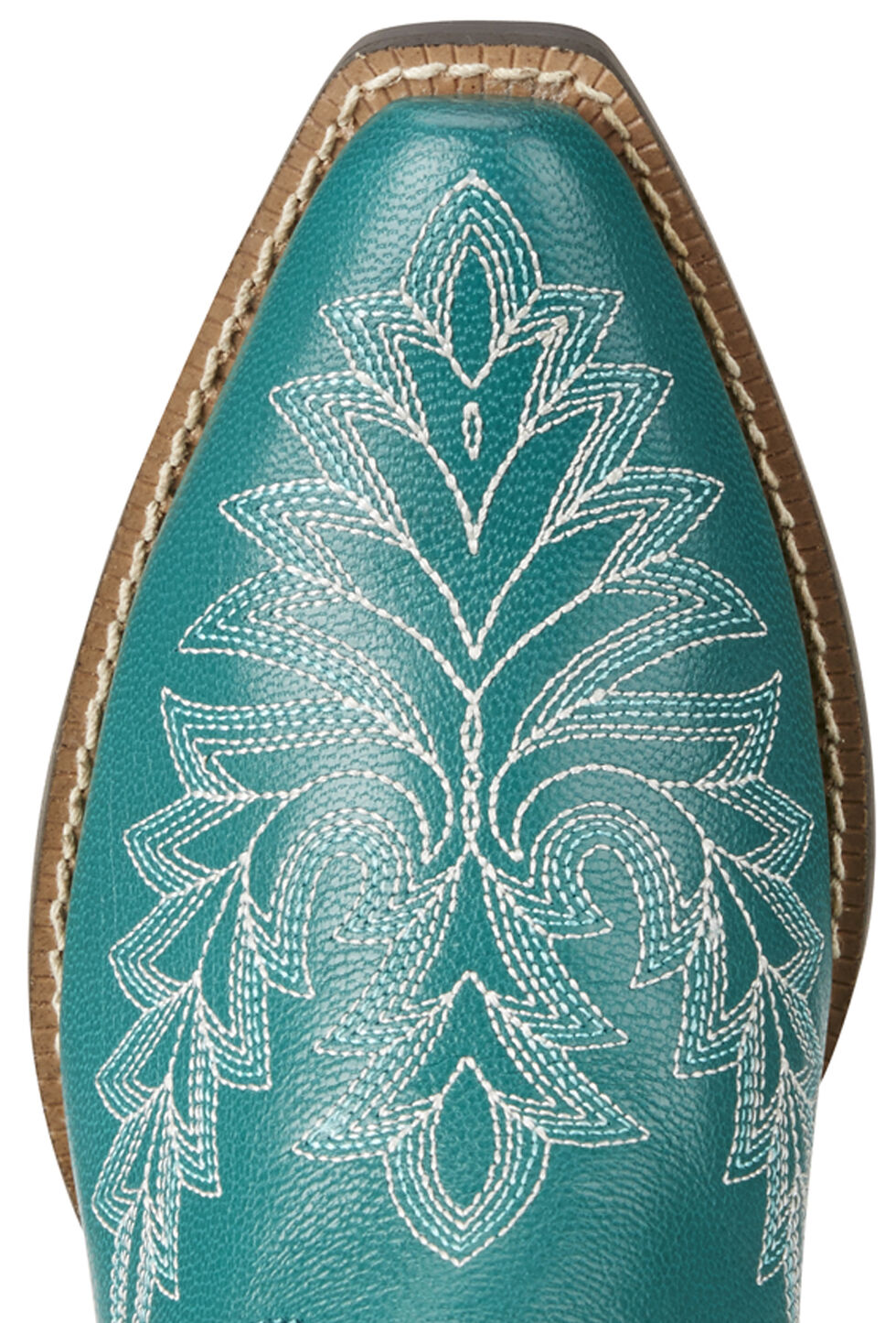 Ariat Girl's Turquoise Brooklyn Boots - Snip Toe, , hi-res