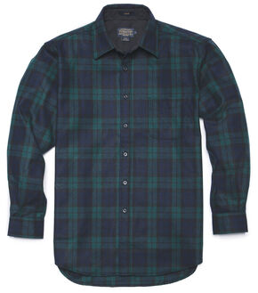 Pendleton Black Watch Plaid Classic Lodge Shirt, Black, hi-res
