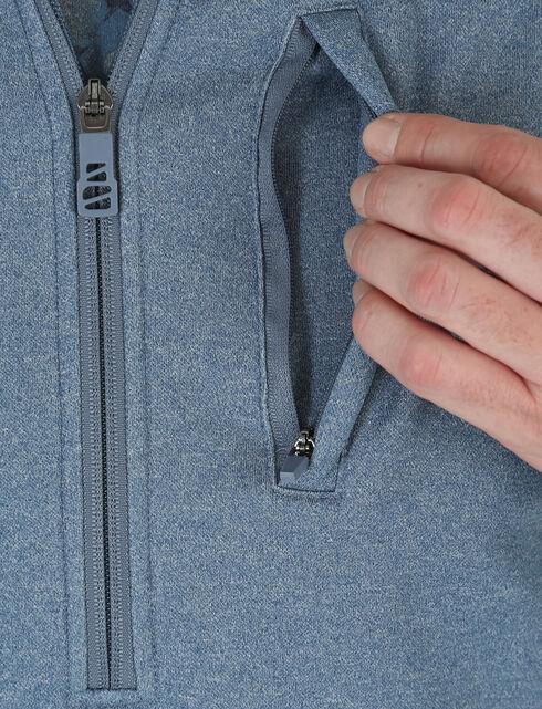 Wrangler Men's 20X Cool Vantage Pullover, Blue, hi-res