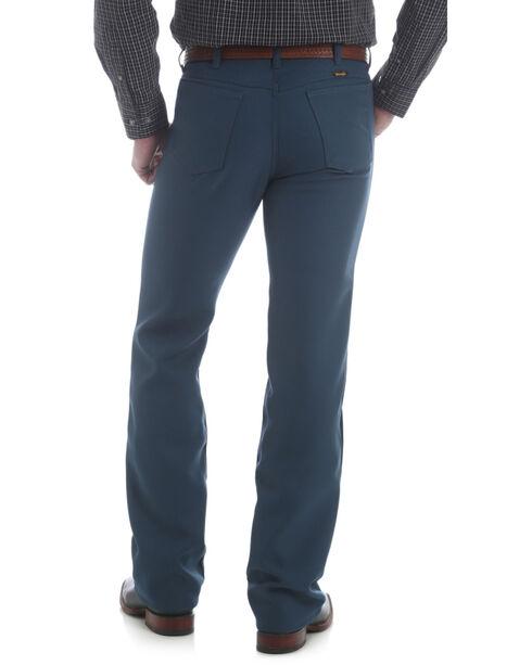 Wrangler Jeans - Wrancher Solid Regular Fit Stretch - Big, Teal, hi-res