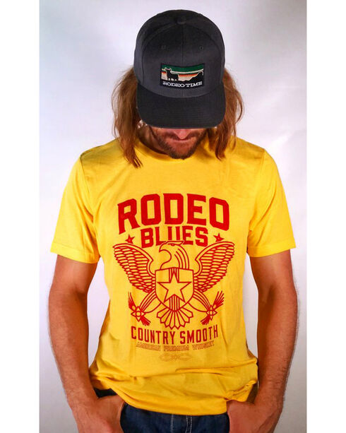 Dale Brisby Rodeo Blues T-Shirt, Yellow, hi-res