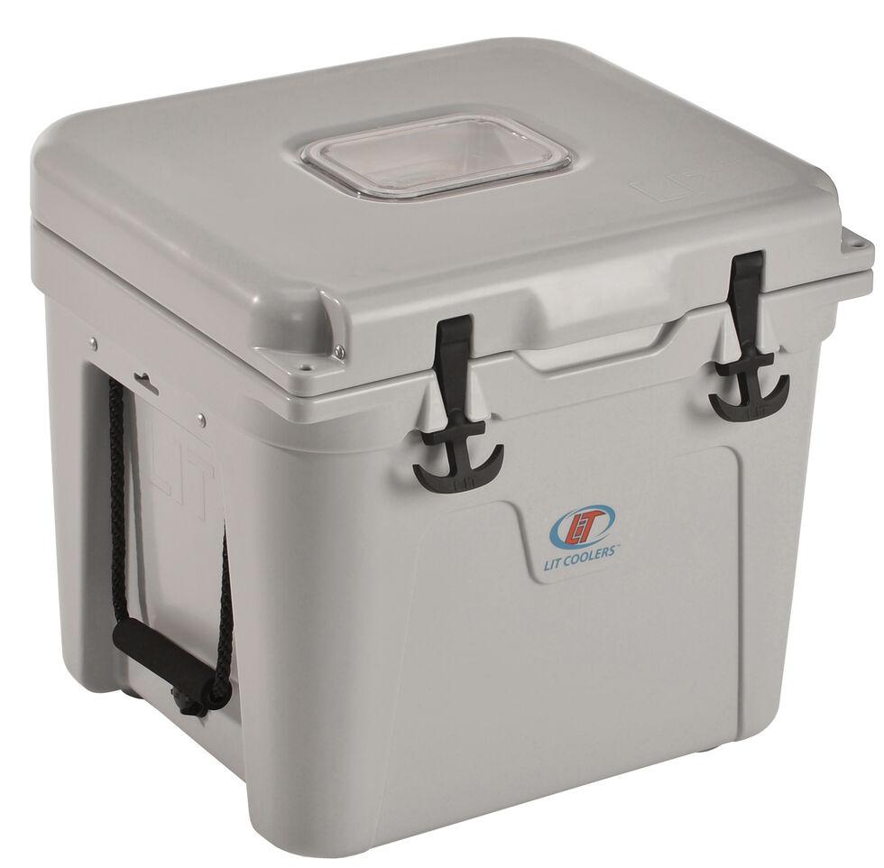 LiT Coolers Halo TS 400 Grey Cooler - 32 Quart, Grey, hi-res