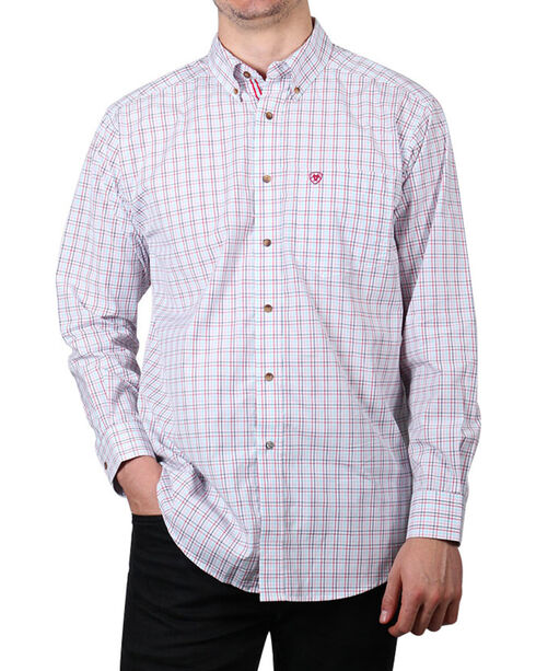 Ariat Men's Nessfield Long Sleeve Performance Shirt , Multi, hi-res