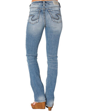 Silver Women's Avery Slim Boot Jeans, Indigo, hi-res