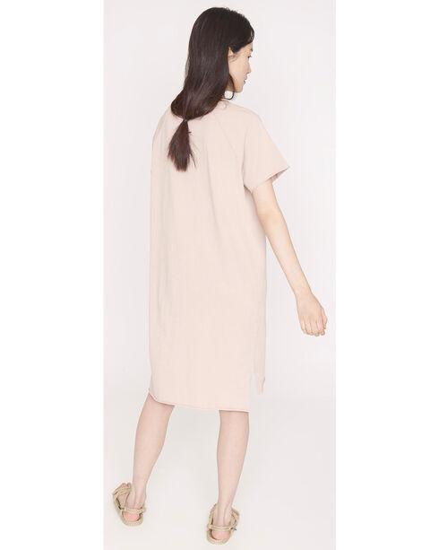 Friday's Project Women's Short Sleeve T-Shirt Dress, Dark Pink, hi-res