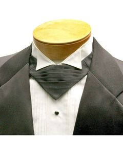 Black Bulldogger Tie, Black, hi-res