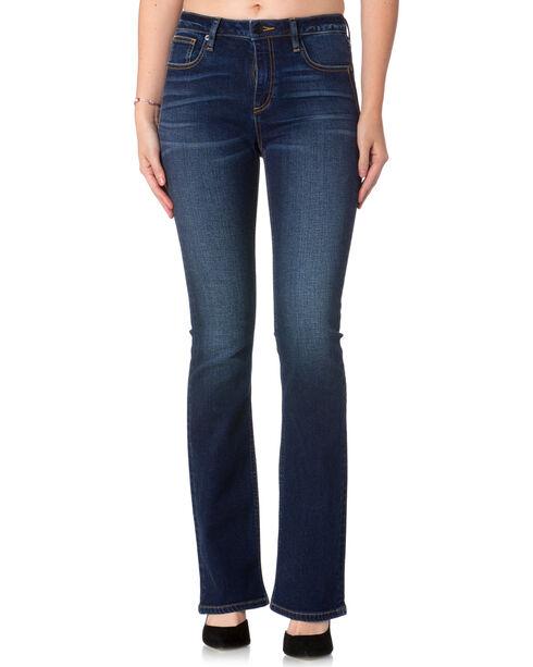 Miss Me Women's Indigo Stand Tall High-Rise Jeans - Boot Cut , Indigo, hi-res