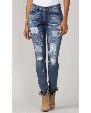 MM Vintage Women's Indigo Sadie Jeans - Skinny, Indigo, hi-res