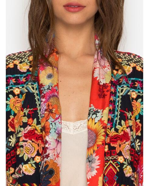 Johnny Was Women's Mishka Rose Embroidered Kimono , Multi, hi-res
