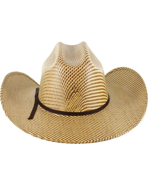 Cody James Men's 20X Tri Color Weave Straw Hat, Multi, hi-res