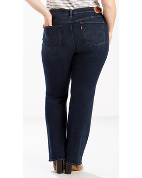 Levi's Women's 415 Classic Boot Cut Blue Jade Jeans - Plus Size, Indigo, hi-res