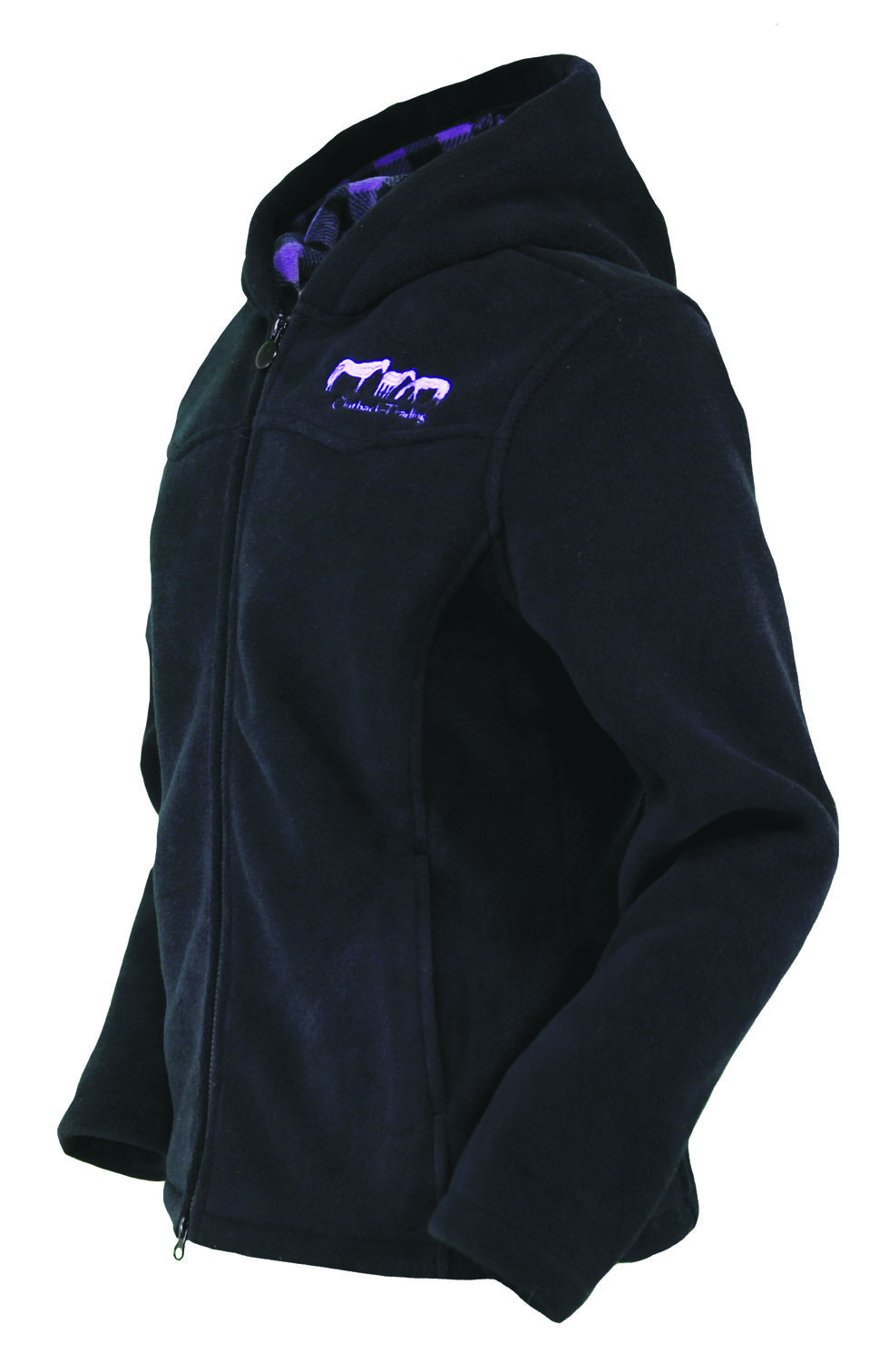Outback Trading Company Women's Mt. Rocky Jacket, Black, hi-res
