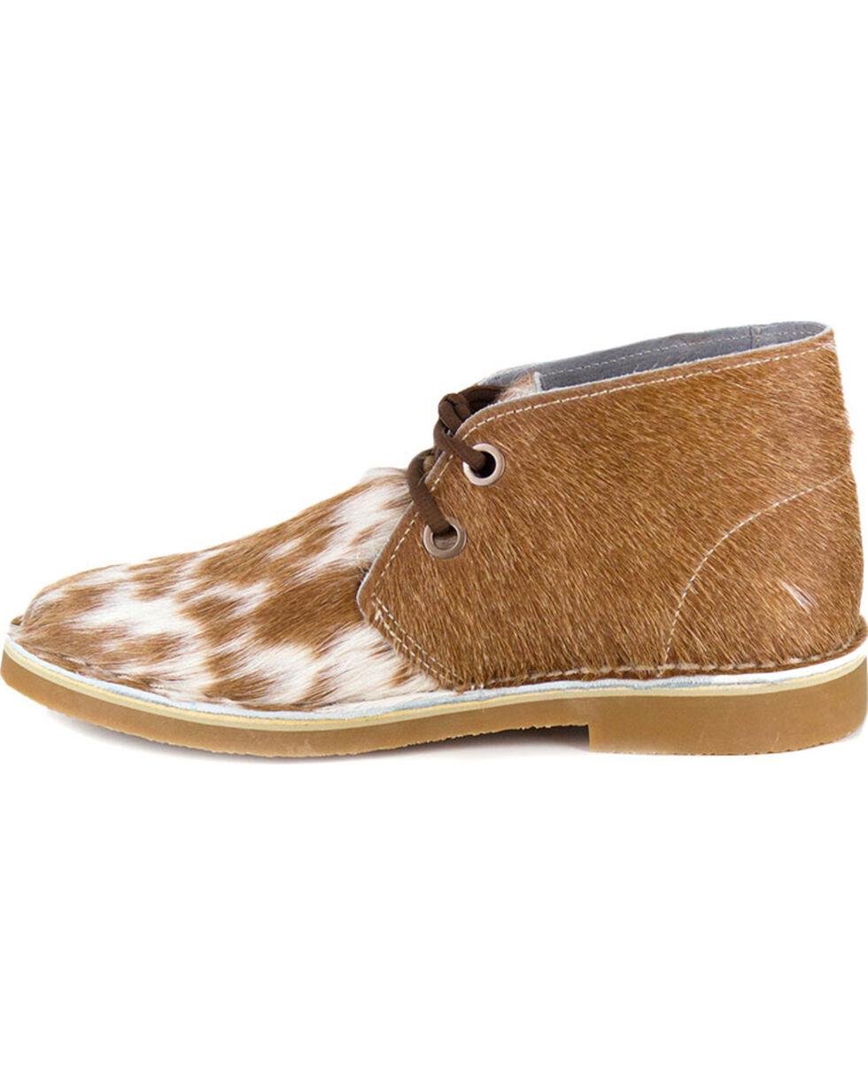 Uwezo Men's Cowhide Desert Boots - Round Toe, Multi, hi-res
