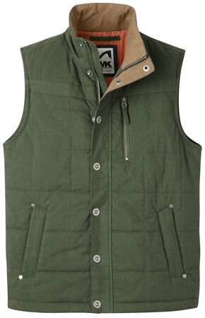 Mountain Khakis Men's Swagger Vest, Green, hi-res