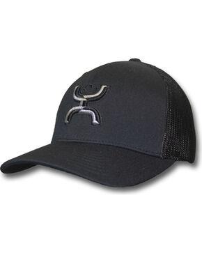 Hooey Men's Chi Snapback Baseball Cap , Black, hi-res