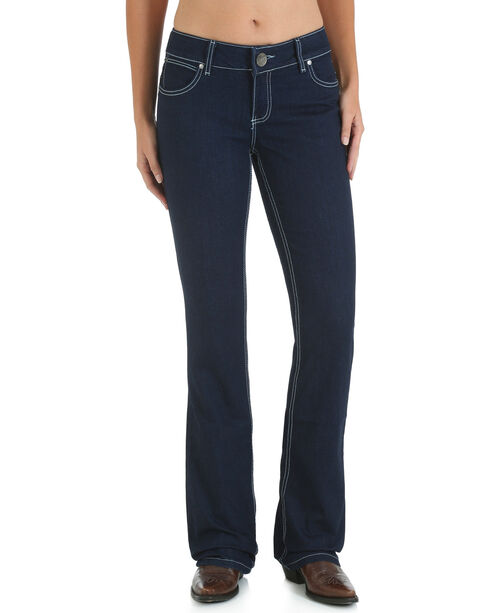 Wrangler Women's Retro Booty Up Mae Jeans - Boot Cut, Indigo, hi-res