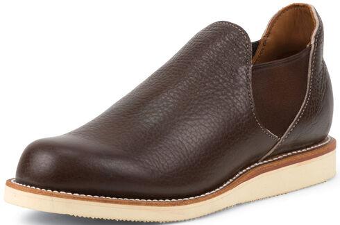 Chippewa Men's 1967 Original Brown Romeo Shoes, Brown, hi-res