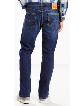 Levis Men's Strauss Regular Fit Jeans - Straight Leg , Indigo, hi-res