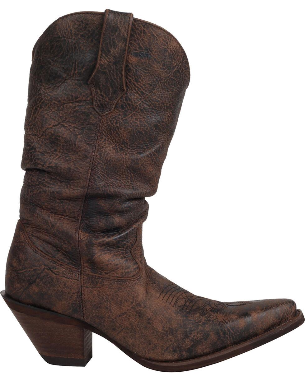 Durango Women's Crush Drunken Slouch Cowgirl Boots - Snip Toe, , hi-res