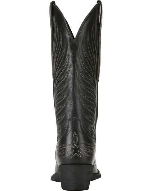 Ariat Women's Black Round Up Phoenix Boots - Square Toe , , hi-res