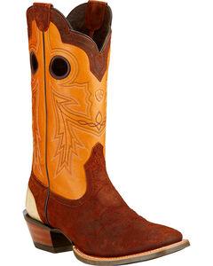 Ariat Wildstock Cowboy Boots - Square Toe , , hi-res