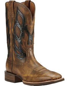 Ariat Nighthawk Vintage Cowboy Boots - Square Toe, Bomber, hi-res