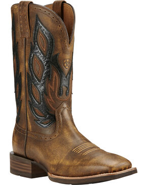 Ariat Nighthawk Vintage Cowboy Boots - Square Toe, Bomber, hi-res