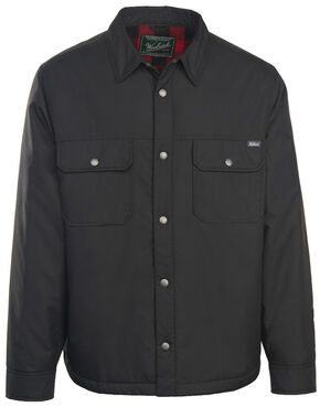 Woolrich Men's Trout Run Shirt Jacket, Black, hi-res